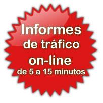 Informes de tráfico online