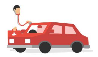 Verificar el informe de un vehículo